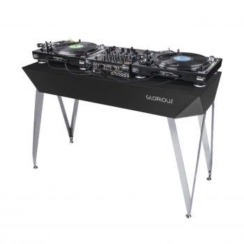 Meuble DJ finition noir