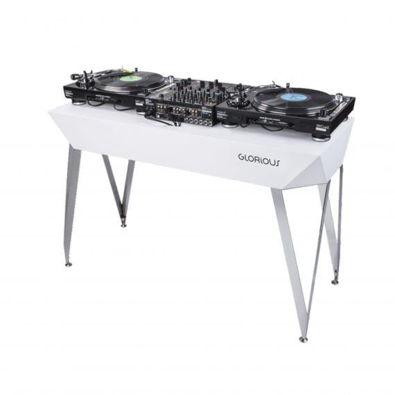 Meuble DJ finition blanc