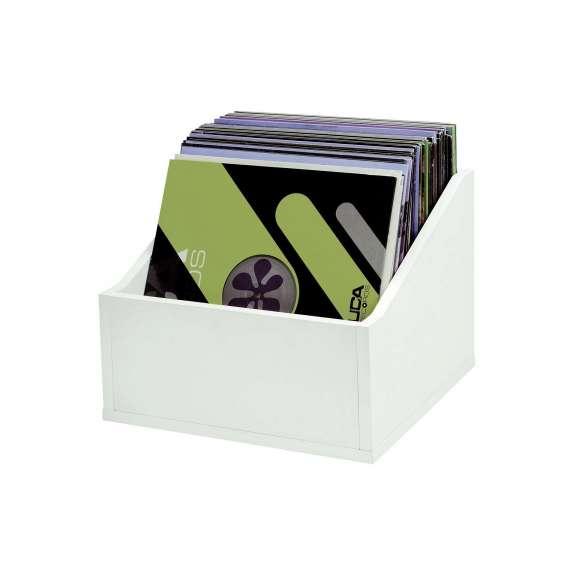 Casiers Rangement 110 Vinyles Finition Blanche