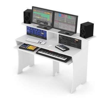 Station de Travail Home Studio Finition Blanc