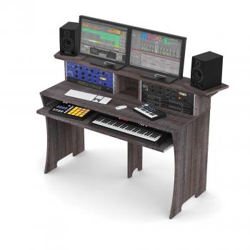 Station de Travail Home Studio Finition Bois